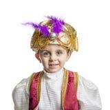 Geïsoleerd sultankind Stock Afbeelding