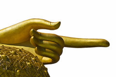 Geïsoleerd - Thais Boeddhistisch art. Royalty-vrije Stock Fotografie