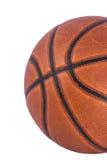 Geïsoleerda basketbal Royalty-vrije Stock Fotografie