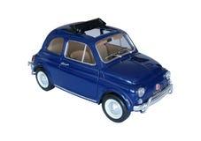 Geïsoleerdb model van auto Stock Afbeelding