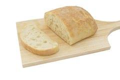 Geïsoleerdd brood, Stock Afbeeldingen
