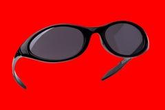 Geïsoleerde« zonnebril stock foto