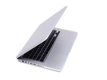 Geïsoleerde¯ moderne laptop Stock Foto's