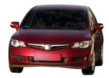 Geïsoleerde auto Stock Foto's