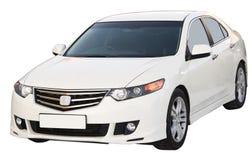Geïsoleerde auto Royalty-vrije Stock Afbeelding