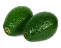 Geïsoleerde avocado Royalty-vrije Stock Foto's