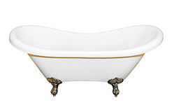 Geïsoleerde_ badkuip Royalty-vrije Stock Fotografie