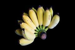 Geïsoleerde banaan Stock Afbeelding