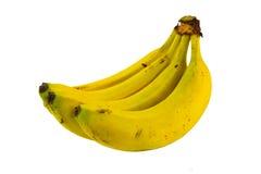 Geïsoleerde banaanvruchten Stock Afbeelding