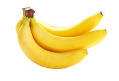Geïsoleerde bananen Royalty-vrije Stock Foto's