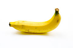 Geïsoleerde bananen Stock Foto