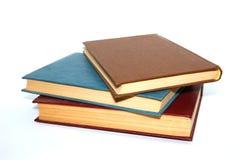 Geïsoleerde boeken   Royalty-vrije Stock Afbeeldingen