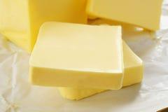 Geïsoleerde boter Royalty-vrije Stock Afbeelding