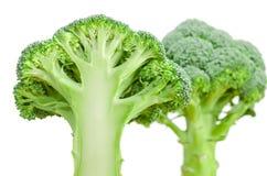 Geïsoleerde broccoliplak Royalty-vrije Stock Afbeeldingen