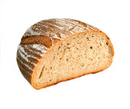 geïsoleerde brood Stock Foto