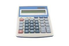Geïsoleerde calculator Stock Foto