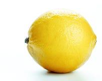 Geïsoleerde citroen Royalty-vrije Stock Afbeelding