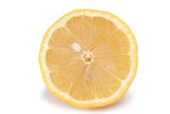 Geïsoleerde citroenfruit Stock Fotografie