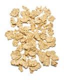 Geïsoleerde cornflakes Royalty-vrije Stock Afbeeldingen