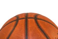 Geïsoleerde de Close-up van het basketbal Royalty-vrije Stock Foto's