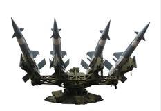 Geïsoleerde de lanceerinrichting van de raket Royalty-vrije Stock Fotografie