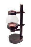 Geïsoleerde de lantaarn van het kaarsbamboe Royalty-vrije Stock Foto