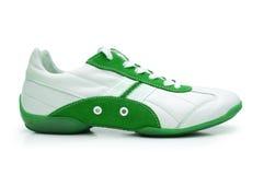 Geïsoleerde de schoen van de sport Stock Foto