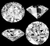 Geïsoleerde diamant Royalty-vrije Stock Foto