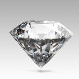 Geïsoleerde diamanten Royalty-vrije Stock Fotografie