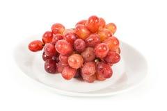 Geïsoleerde druiven Stock Foto's