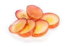 Geïsoleerde druiven Stock Afbeeldingen