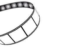 Geïsoleerde film/fotofilmillustratie Royalty-vrije Stock Afbeelding