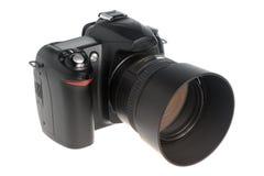 Geïsoleerde fotocamera Royalty-vrije Stock Afbeelding