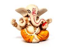 geïsoleerde Ganesha royalty-vrije stock afbeeldingen