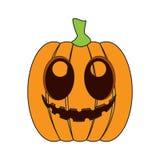 Geïsoleerde gelukkige hefboom-o-lantaarn stock illustratie