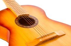Geïsoleerde$ gitaar Royalty-vrije Stock Afbeeldingen
