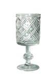 Geïsoleerde glas. Royalty-vrije Stock Afbeelding