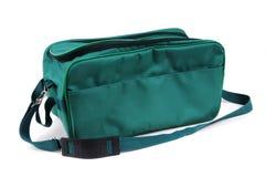 Geïsoleerde groene zak royalty-vrije stock foto's