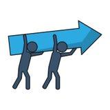 Geïsoleerde groep pictogrammenontwerp Royalty-vrije Stock Afbeelding