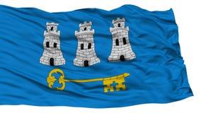 Geïsoleerde Havana City Flag Stock Foto