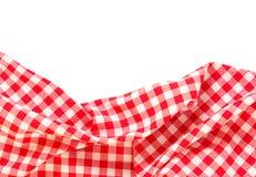 Geïsoleerde het kader van de picknickdoek Royalty-vrije Stock Afbeeldingen