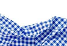 Geïsoleerde het kader van de picknickdoek Stock Foto's