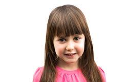 Geïsoleerde het meisje van de baby Royalty-vrije Stock Foto