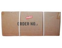 Geïsoleerde het pakket van het pakket stock foto's