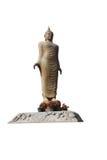 Geïsoleerde het Standbeeld van Boedha Royalty-vrije Stock Foto's