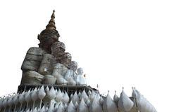 Geïsoleerde het Standbeeld van Boedha Royalty-vrije Stock Foto