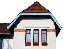 Geïsoleerde huis stock fotografie