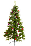 Geïsoleerde Kerstboomdecoratie 2016 Gelukkig Nieuwjaar Stock Foto