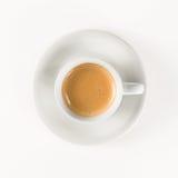 Geïsoleerde koffiekop royalty-vrije stock fotografie