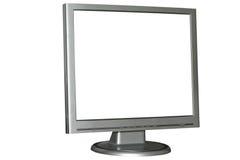 Geïsoleerde LCD monitor Royalty-vrije Stock Afbeeldingen